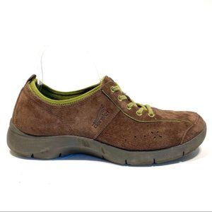 Dansko 37 Elise Lace Up Suede Sneaker Shoe Comfort